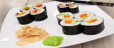 Domowe Sushi - maki w różnych odsłonach
